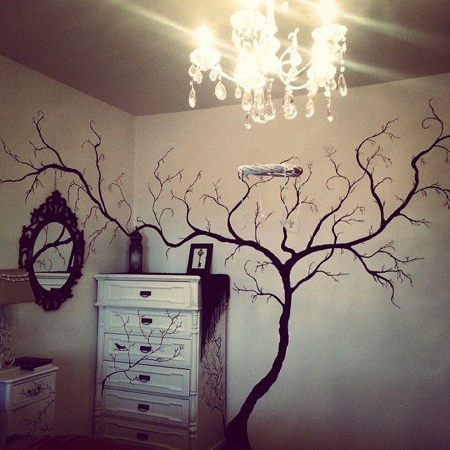 Log In Instagram Wall Painting Black Painted Walls Bedroom Wall Paint