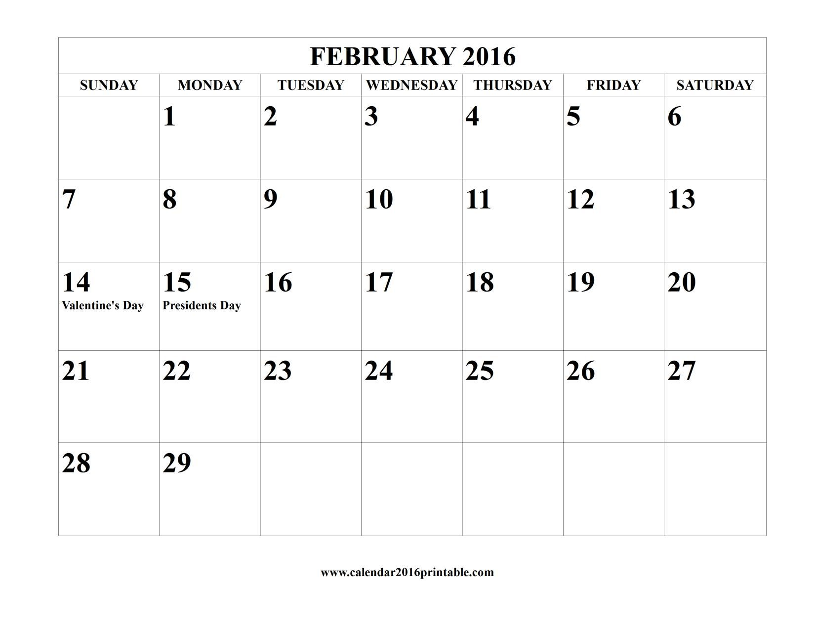 Next Year Calendar : The best february calendar template ideas on