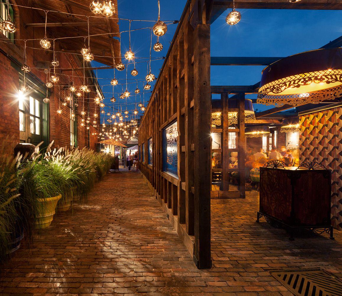 5 Lavish Projects By Studio Munge: Distillery District, Toronto. Designed By Studio Munge