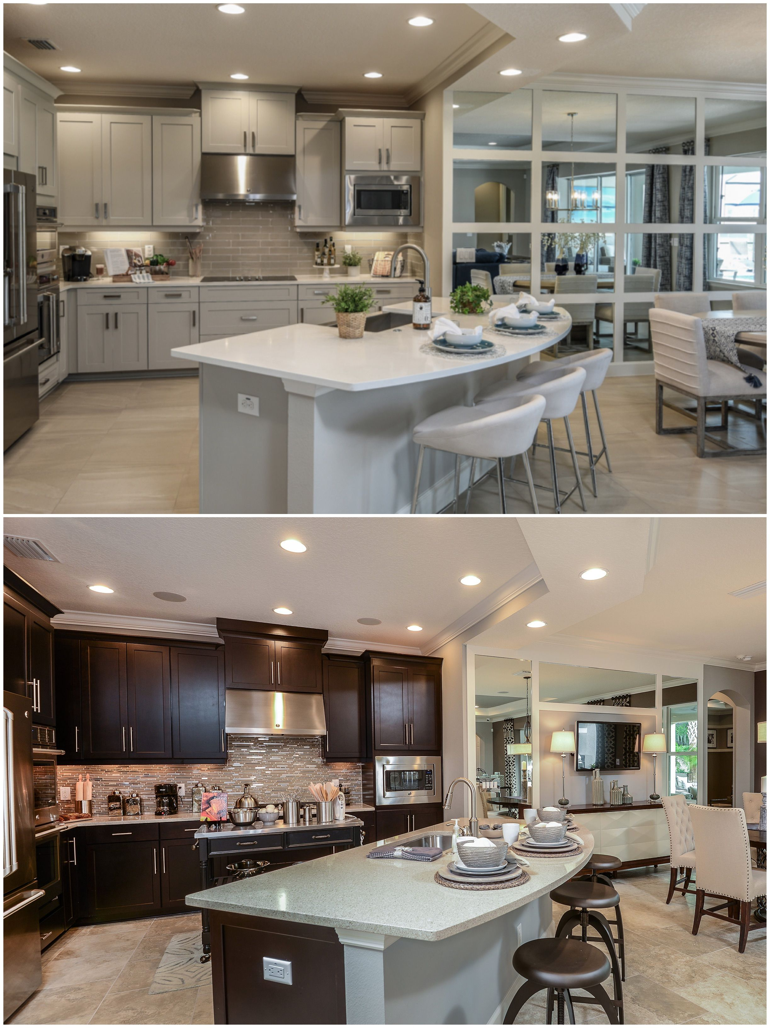 Light Cabinets Or Dark Which Are Your Favorite Wesleychapel