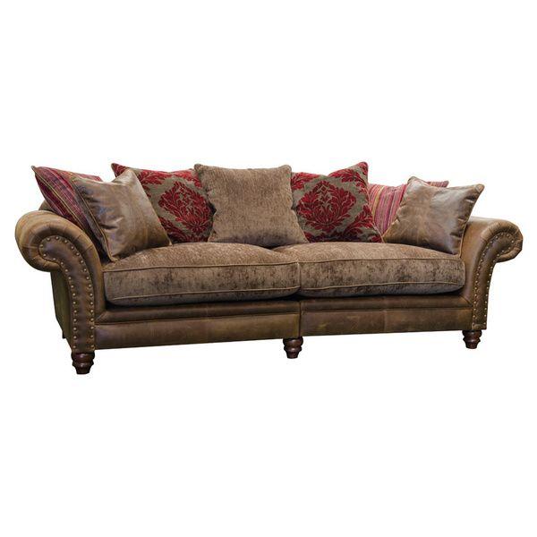 Hudson Leather Sofa
