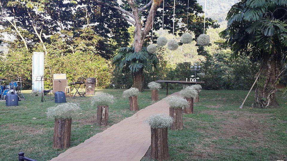 Candelabro De Cristales Boda Rústica Plants Sidewalk Structures