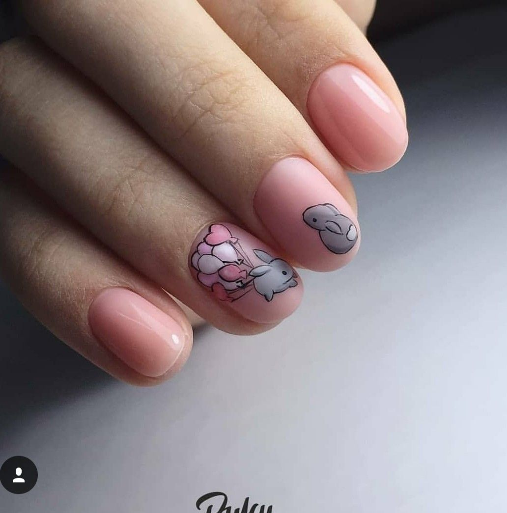 Pin by stasy on nails design pinterest bunny manicure and