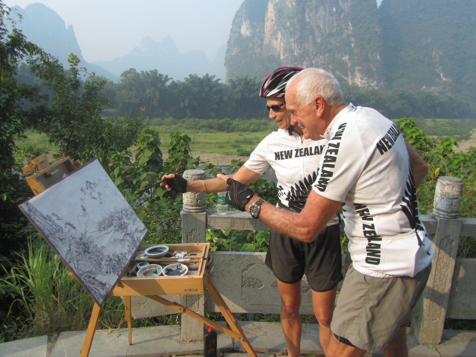Mountain biking paradise in China - Guilin