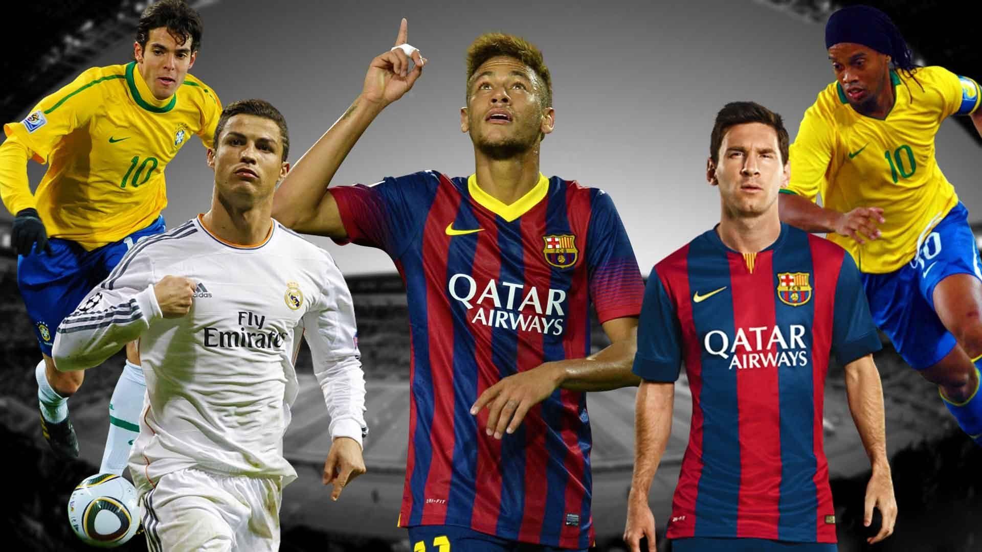 Cristiano Ronaldo vs Messi vs Neymar vs Ronaldinho vs Kaka [HD