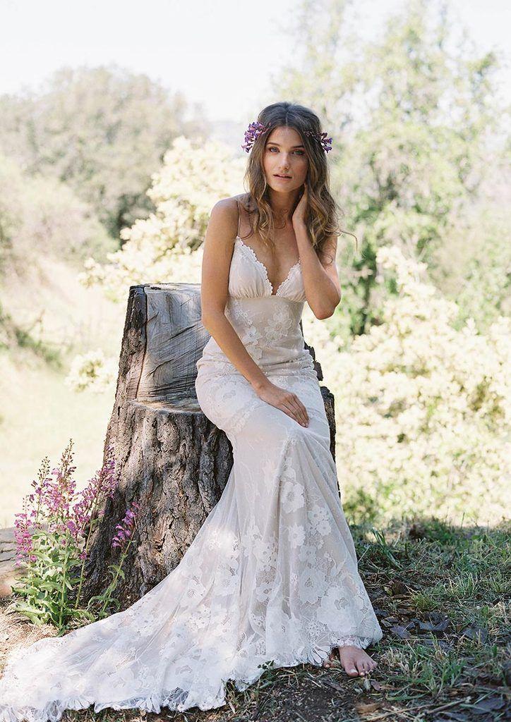 Del Rey Wedding Dress Made to Measure Romantique by Claire Pettibone ...