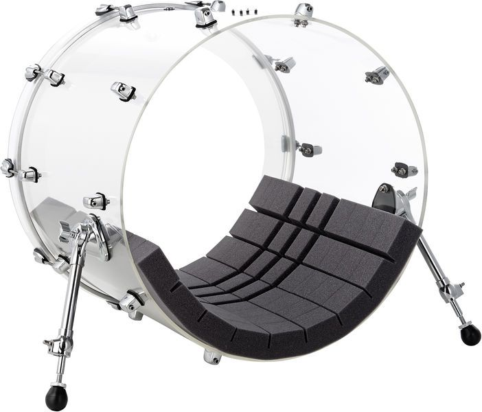 acoustic foam for bass drums for controlling the resonance behaviour for damping batter head. Black Bedroom Furniture Sets. Home Design Ideas