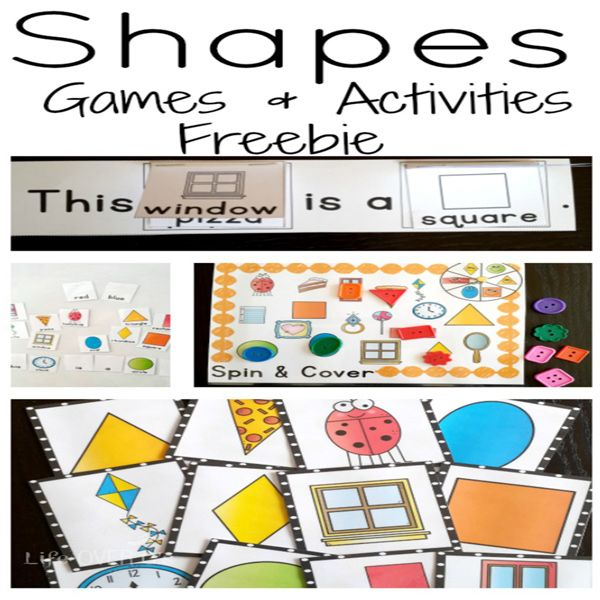 Shape I Spy Free Printable Learning Shapes 2d Shapes Activities