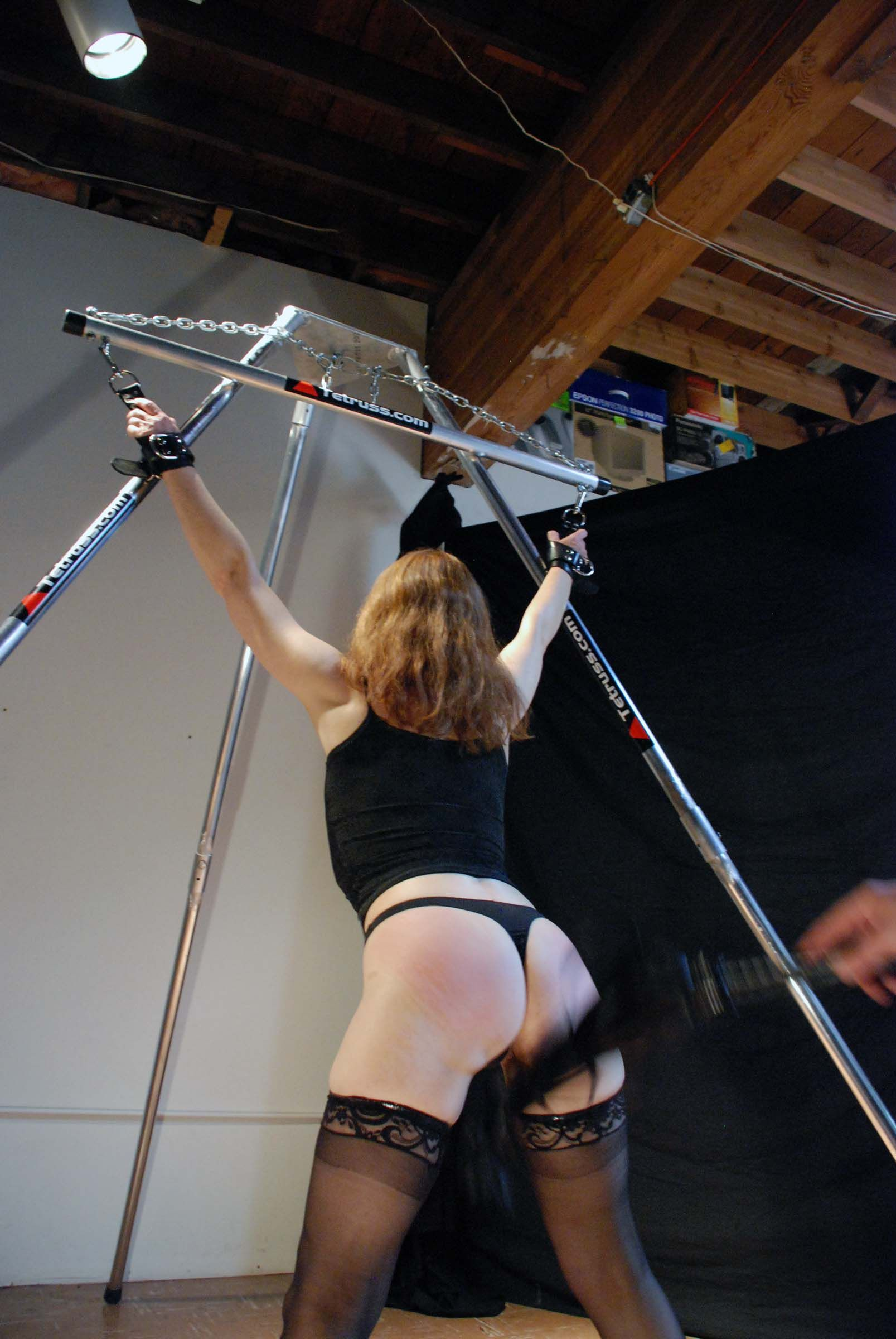 Look her Bondage pictures st andrews cross babe's