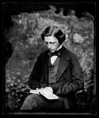 Lewis Carroll, 'Self-Portrait,' ca. 1857.