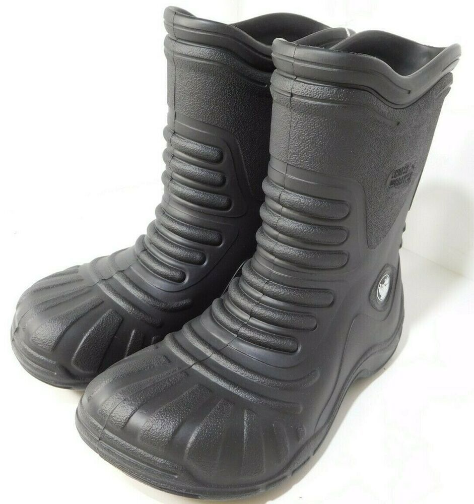 1f3dd4517ad Shoes for Crews Froggz Black Slip Resistant Rubber Boots US Men's 8M ...