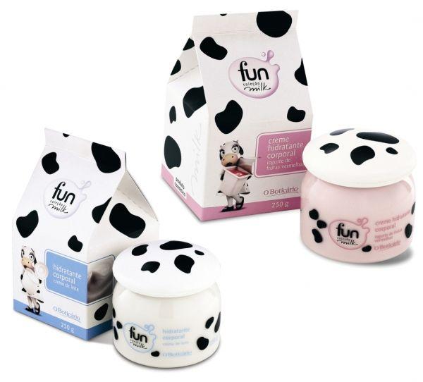 Body Lotion Pack by O Boticário, Brazil  Such a fun cow IMPDO
