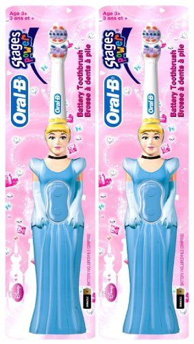 Oral-B Stages 3 #Power Toothbrush - Disney Princess A power #toothbrush designed for kids . Kids will love the fun of Oral-B Stages Disney Princess Power Toothbr...