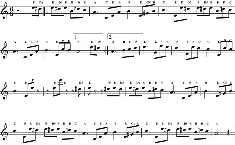 Fantastisch Musiknoten Arbeitsblatt Bedruckbaren Ideen ...