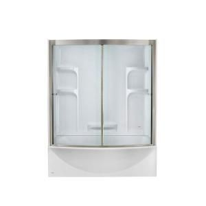 Tub Fits In Standard Footprint But Has Curved Door And Is