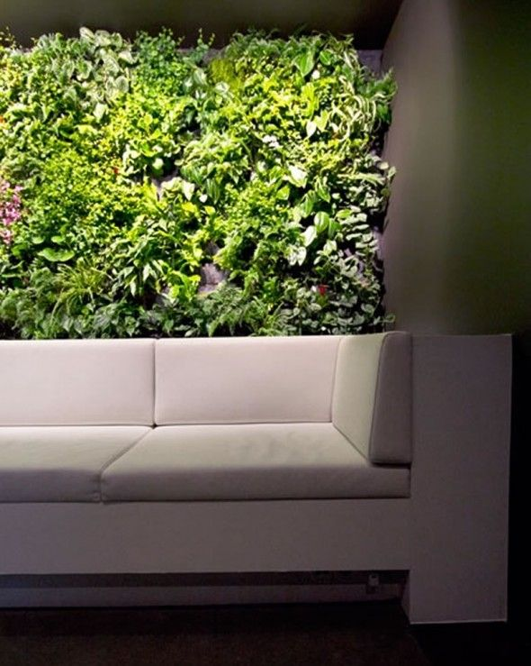 Indoor Office Vertical Garden Design