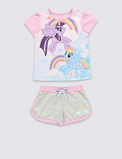 11ff9afa45 My Little Pony Short Pyjamas (1-7 Years)