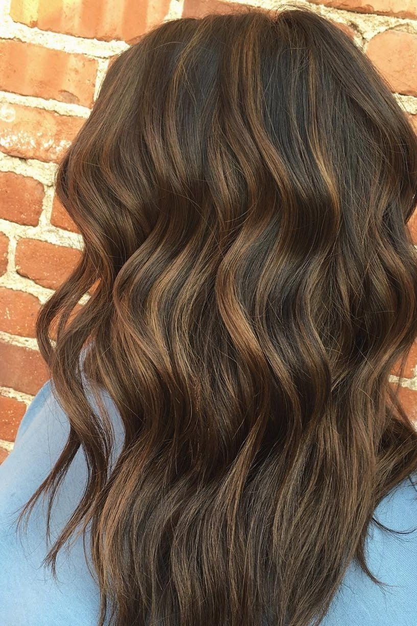 Fallayage.. not to be confused with balayage, fallayage features ribbons of  honey,