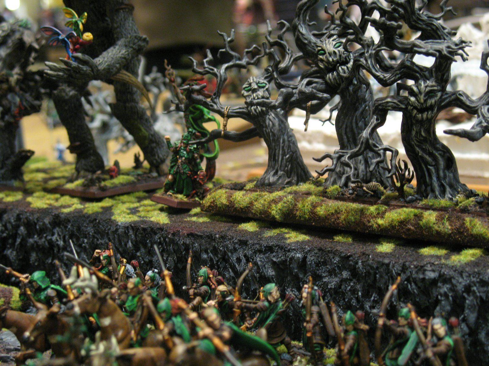 Warhammer High Elves Cavalry Squad.jpg | Elf miniatures ...