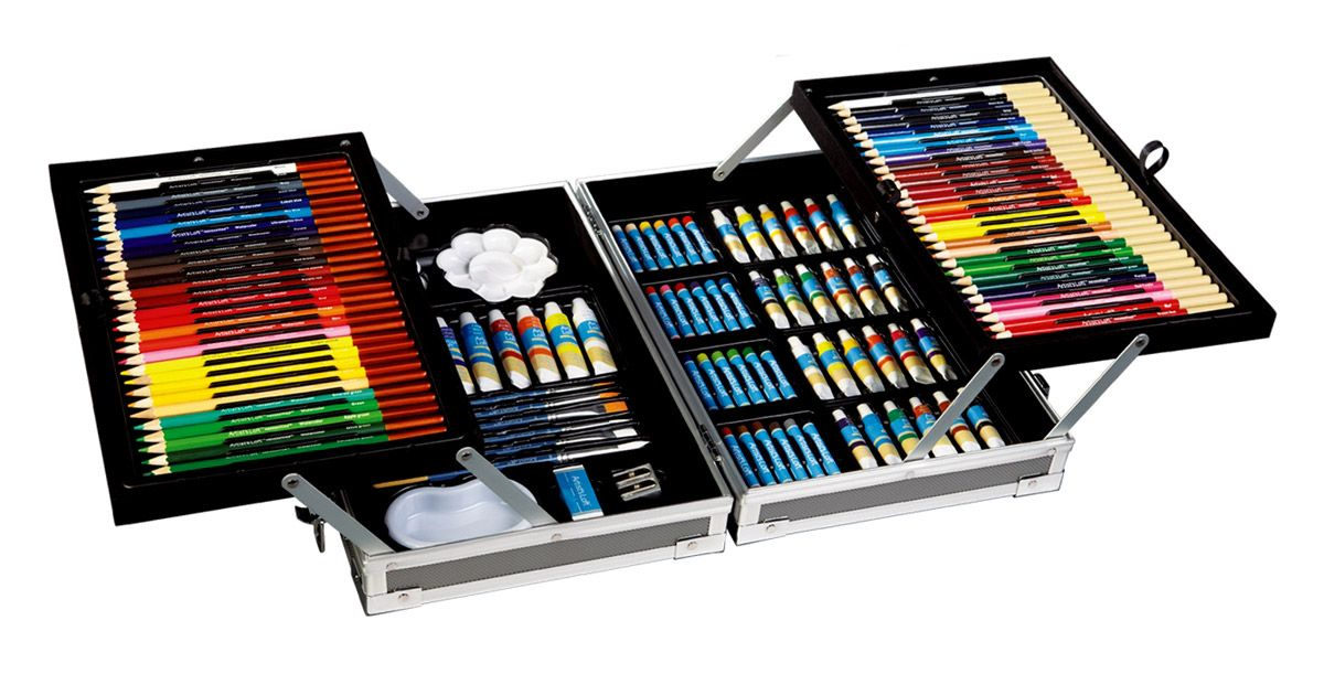 126pc All Media Ultimate Art Set I Want With Images Art Set