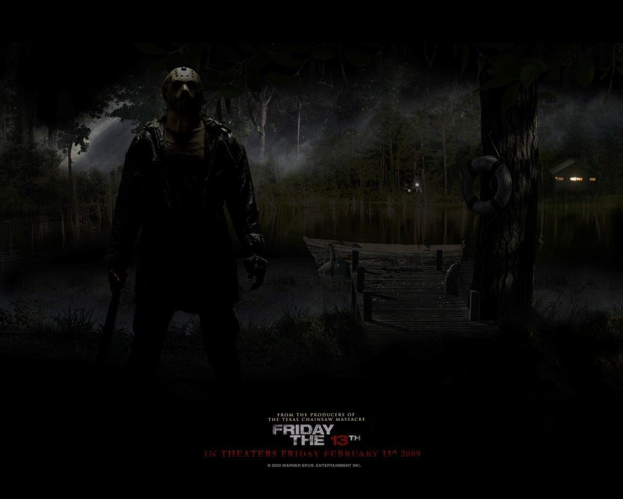 friday the 13th - jason voorhees wallpaper (10872817) - fanpop | no
