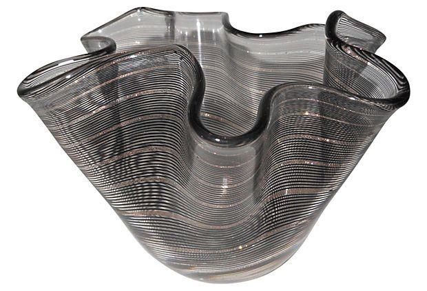 Fazzoletto Filigrana Handkerchief Vase on OneKingsLane.com $339