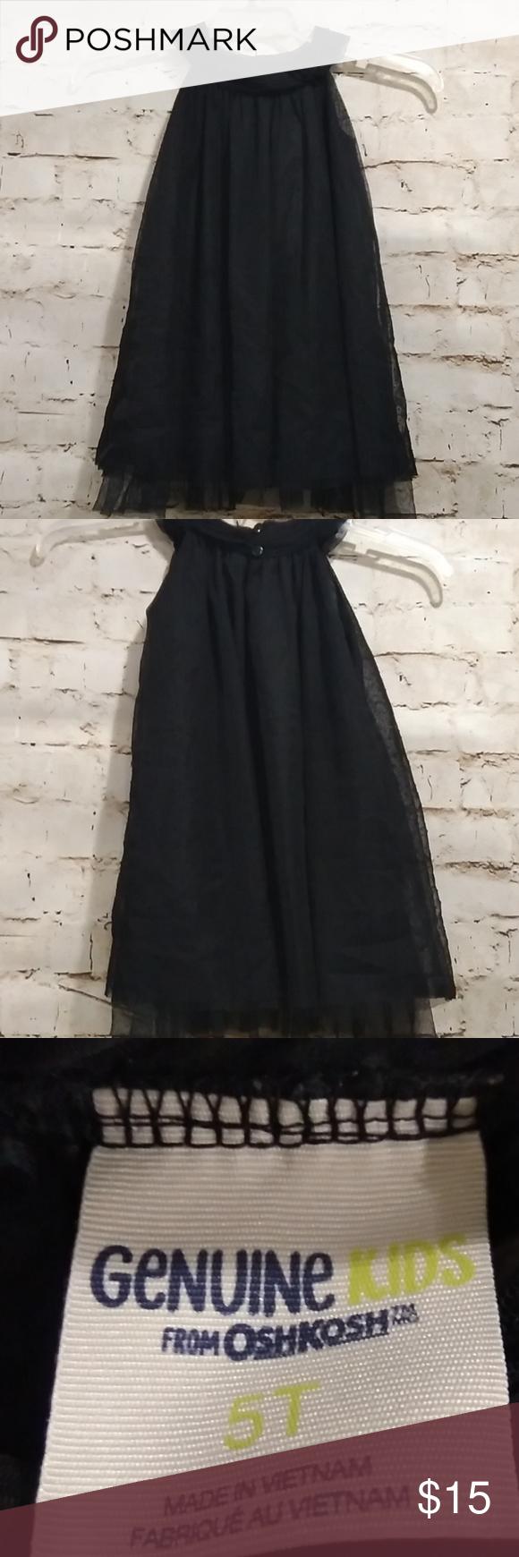 Genuine Kids 5t Black Tulle Holiday Dress Holiday Party Dresses Holiday Dresses Dresses [ 1740 x 580 Pixel ]