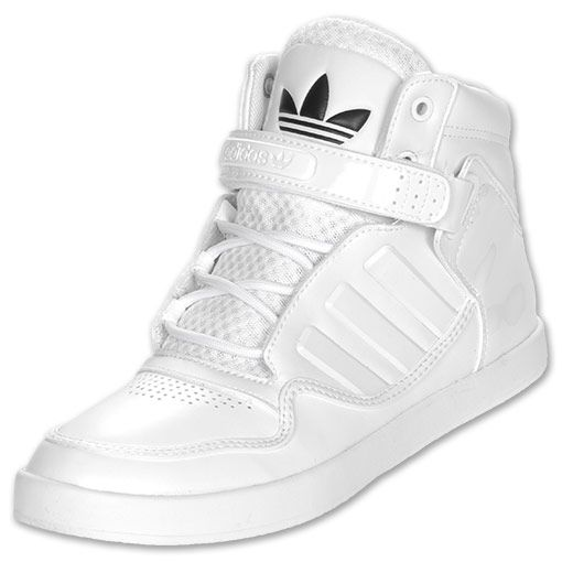 lowest price 97a47 e374e Adidas Man shoes high top all white   Men s adidas AR 2.0 Casual Shoes