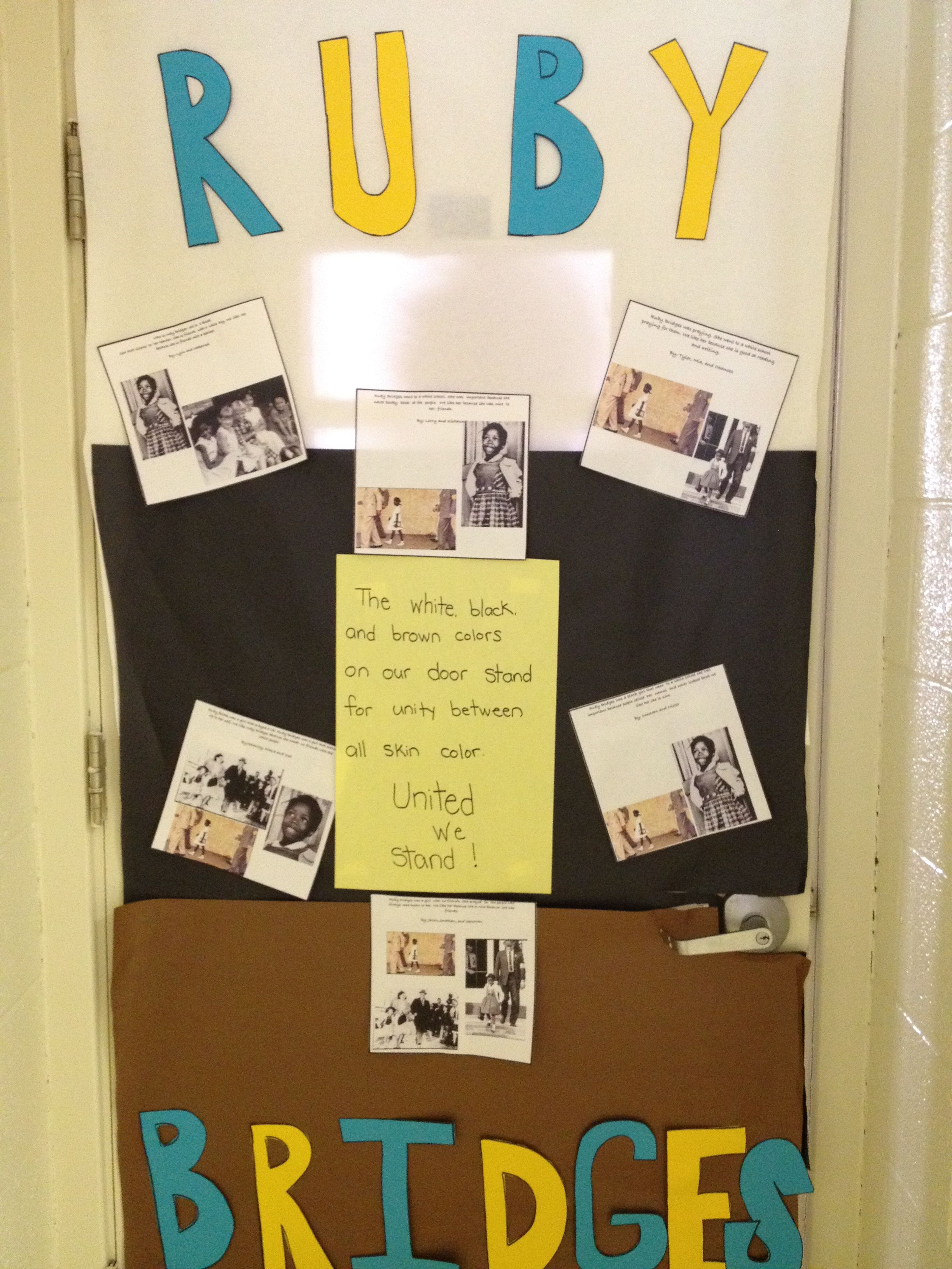 Black history month door i grouped my students and they for Idea door primary