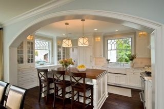 How To Remove Wall Separating Living Room And Kitchen Island Remove Wall Between Kitchen And Living Room For T Traditional Kitchen Design Home Sweet Home
