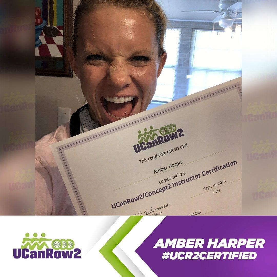 Get To Know A Ucanrow2 Certified Rowing Instructor Amber Harper Indoor Rowing Workout Rowing Technique Rowing Workout