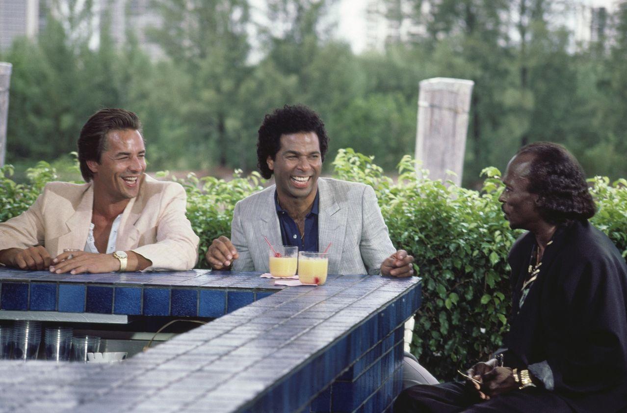 Don Johnson, Philip Michael Thomas & Miles Davis