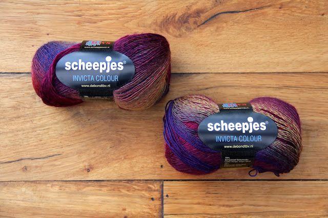 creJJtion:, Scheepjeswol, Invicta Colour Yarns