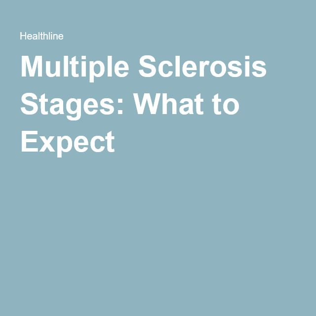 Multiple Sclerosis Stages: What to Expect