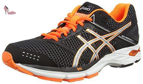 Asics Gel-Phoenix 8, Chaussures de Tennis Homme, Gris (Midgrey/Black/Hot Orange), 40.5 EU
