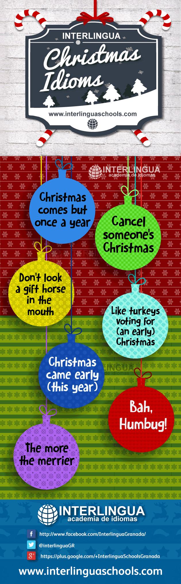 christmas idioms english - Christmas Idioms