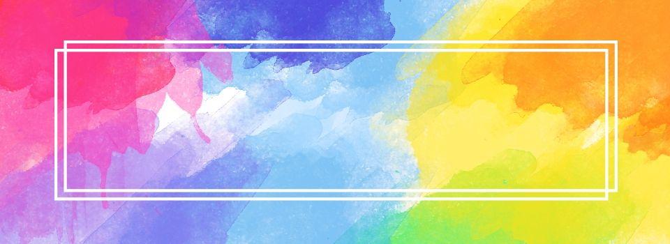 Banner multicolor background hd images