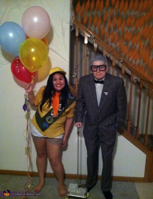 Carl And Russell From The Movie Up - Halloween Costume -8707