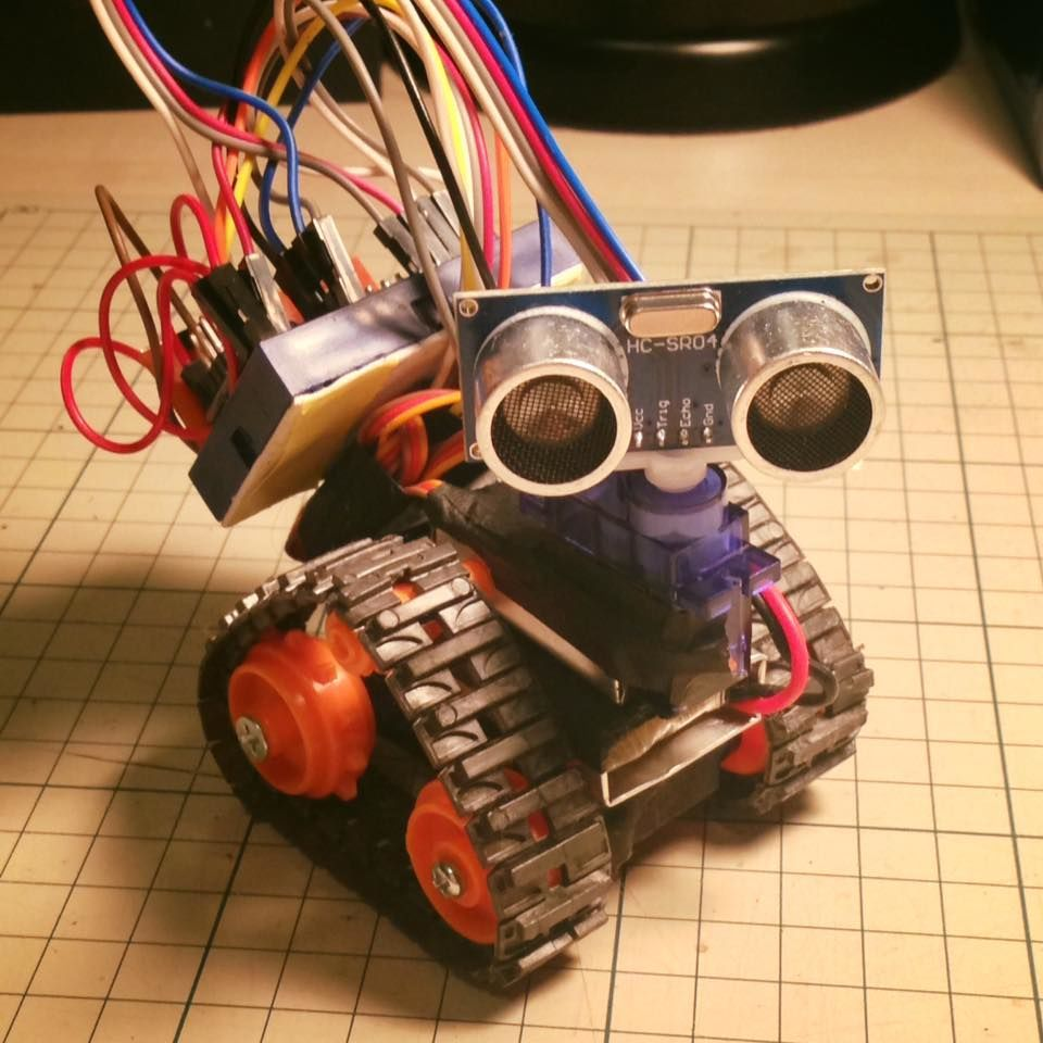 Arduino Nano Based Microbot | Arduino, Arduino projects, Robot