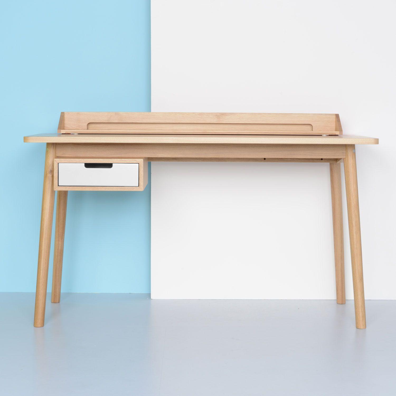 Honore desk by harto desks office furniture office for Bureau harto