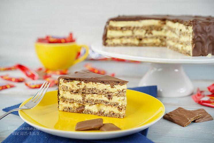 Daim Torte / Almondy / nachgemacht: Original trifft Sally