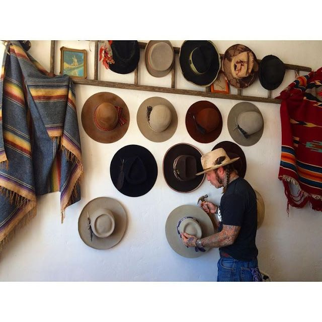 Moon to Moon: Hats on the Wall.....