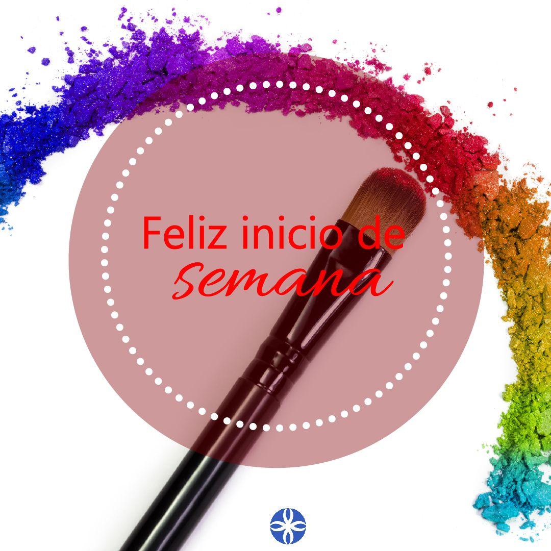 #FelizLunes , a iniciar la semana llena de vida, de colores, de ánimos y de buenas energías. ¡Ah y con un buen maquillaje! . #Autoestima #AmorPropio #LaCole