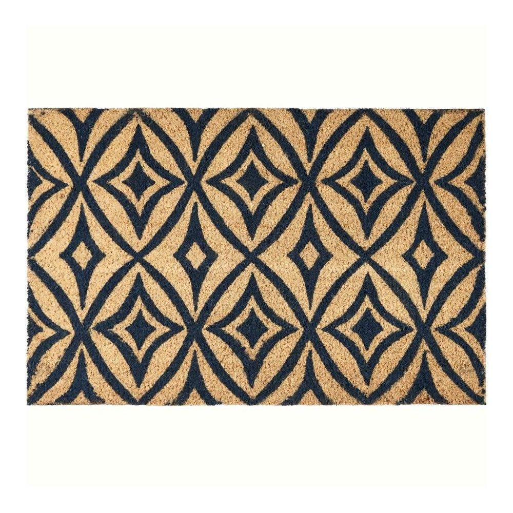 Waverly Greetings Centro Navy Doormat Wgt03 2 X 3 Blue