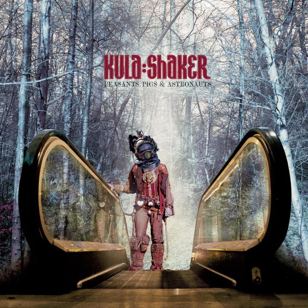 Kula Shaker Peasants Pigs Astronauts Kula Shaker Kula Cover Artwork