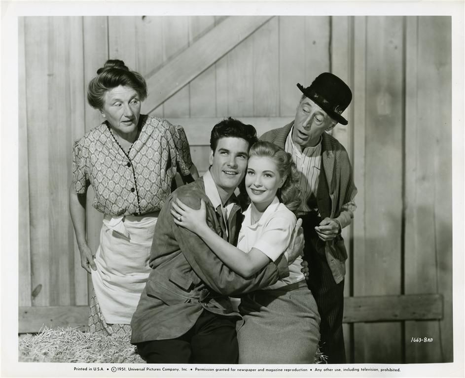 Ma Kettle ~ Marjorie Main & Percy Kilbribe ~ Pa Kettle, James Best, Lori Nelson