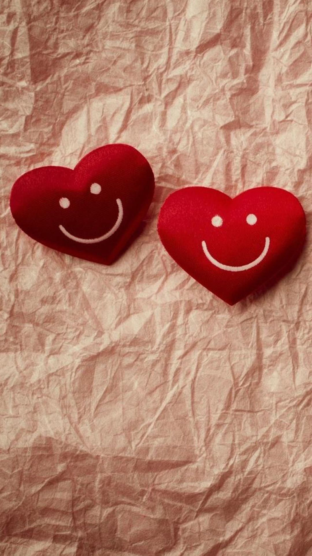 Cute Smile Love Heart Couple Fold Paper Iphone 6 Wallpaper Download Iphone Wallpapers Ipad Android Wallpaper Love Love Wallpaper For Mobile Iphone Wallpaper