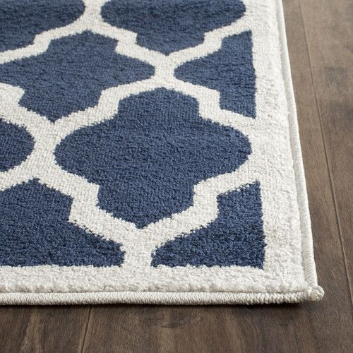 Found It At Wayfair Amherst Navy Beige Indoor Outdoor Area Rug