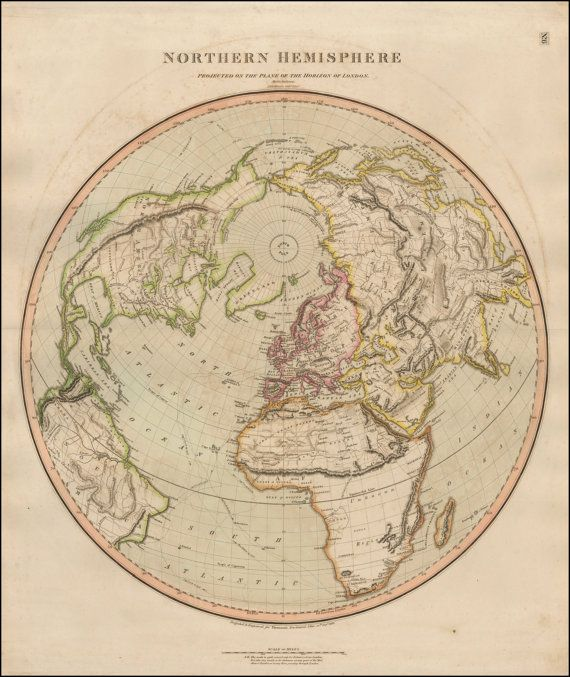 World map print Old maps World globe Ancient map by mapsandposters - new world map software download for mobile
