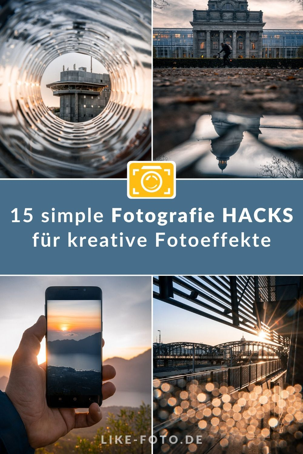 14 simple Fotografie HACKS für kreative Fotoeffekte – like-foto.de